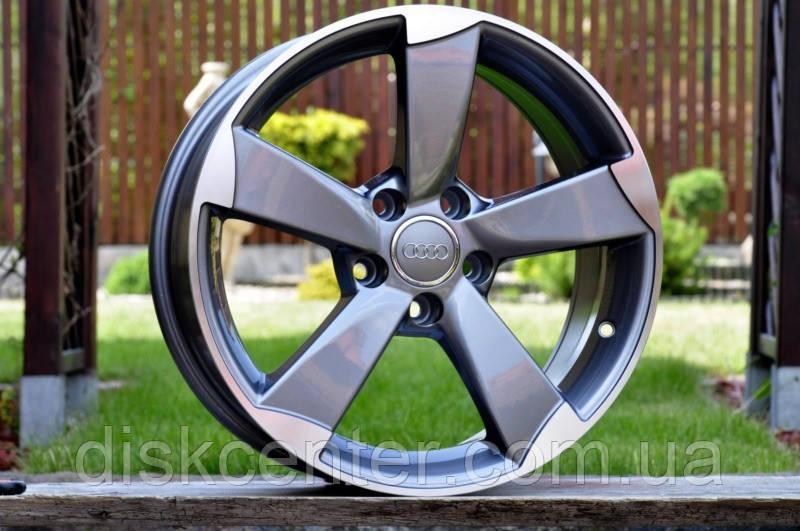 литые диски R17 5x112 Rotor Style на Audi A3 A4 A5 A6 Q5 продажа