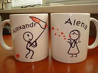 Печать ваших фото, логотипов на чашках