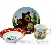 Детский набор Маша и Медведь Helios