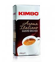 Кофе молотый из Италии Kimbo Aroma Italiano Gusto Deciso 250 г., фото 1
