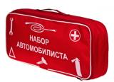 Сумка-органайзер Vitol Набор автомобилиста ST-02 Красная 46х20х15 см