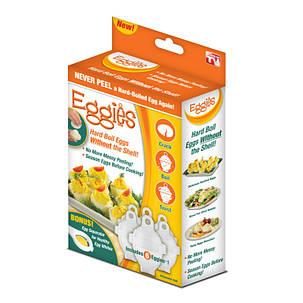 Формочки для варки яиц без скорлупы Eggies, фото 2