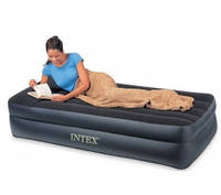 Велюровая кровать матрас  Intex 66721