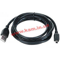 CABLE USB2 A PLUG/ MINI B 3M/ CCP-USB2-AM4P-6 GEMBIRD (CCP-USB2-AM4P-6)