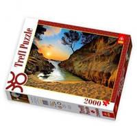 Пазлы 27048 Восход солнца (Коста Брава,Испания)(Trefl пазл) 2000 дет.
