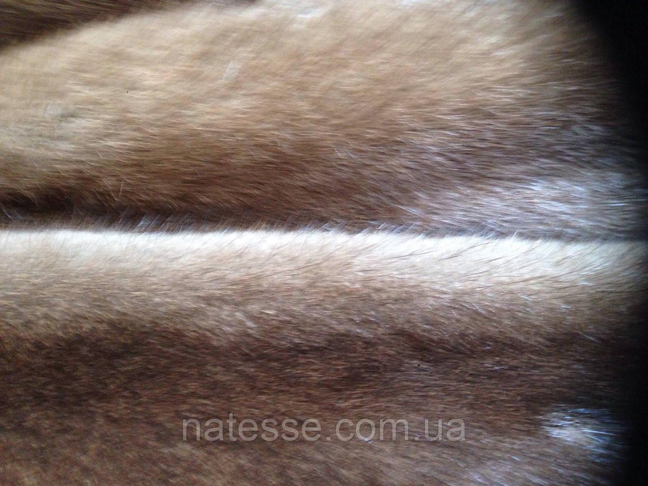 Мех шкуры норка цвет орех длина 68-72 см