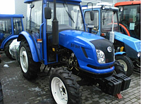 Трактор DONGFENG DF 504 с кабиной (50 л.с., 4 х 4, 4 цилиндра, колеса 12.4-28/8.3-20)