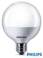 Светодиодная лампа-шар с цоколем Е27 Philips LED Globe E95 9,5Вт с теплым светом