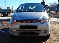 Дефлекторы капота для Chevrolet Spark 2005-10