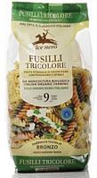 Alce Nero макарони FUSILLI три кольори (пшениця тверда) 500 г