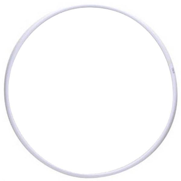 Обруч для художественной гимнастики Pastorelli Rodeo 80см белый