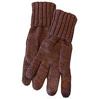Вязаные зимние перчатки