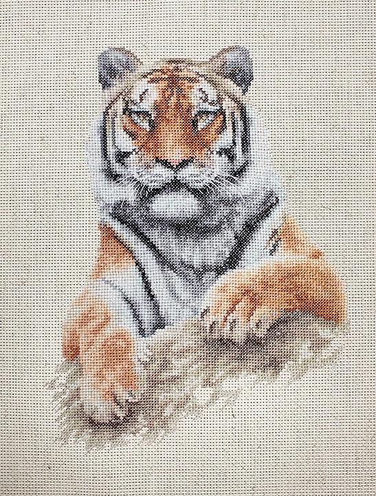 B2289 Тигр. Набор для вышивки крестом Luca-S