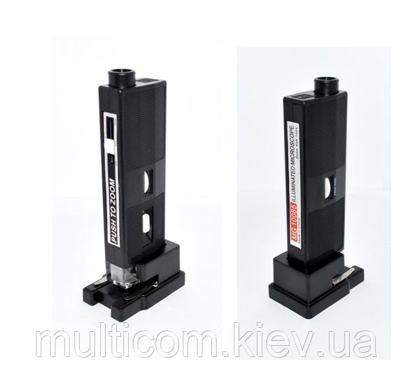 14-06-001. Микроскоп ручной, увеличение 60х-100х, с LED подсветкой, MG10085