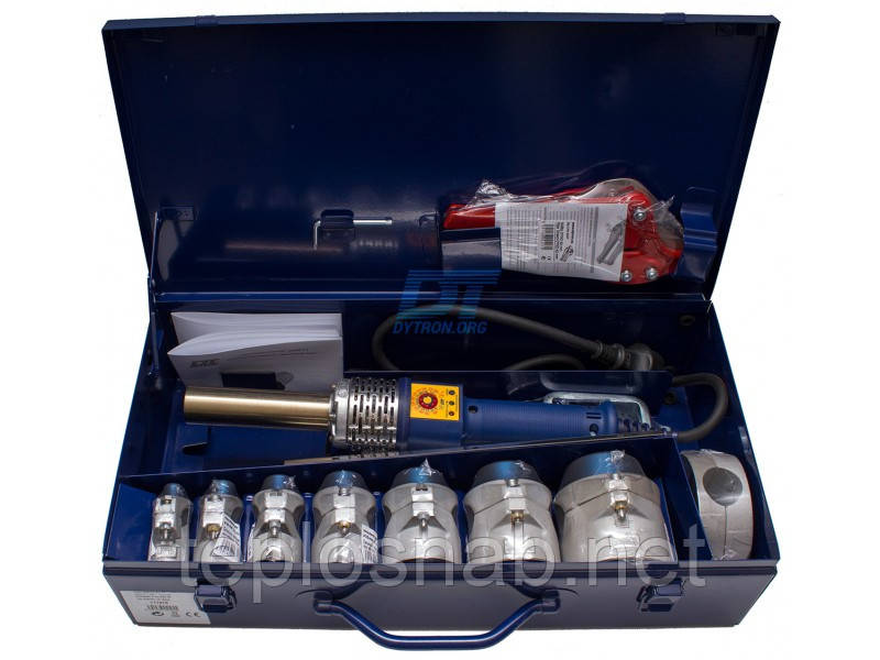 Паяльник пластиковых труб Dytron SP-4a 650 Вт Maxi TraceWeld (насадки 16-63 мм.)