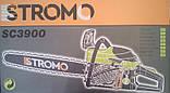 Бензопила STROMO SC3900 (1шина,1ципа), фото 6