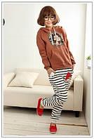 Толстовка женская с капюшоном с рисунком микки маус ( mickey mouse), фото 1