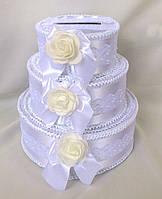Свадебная коробка для денег Роза, фото 1