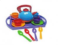 Набор игрушечной посуды Юнная господарочка Орион №11 из 14 предметов