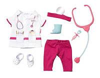 Комплект одежды костюм доктора  для куклы Baby Born Zapf Creation 821077
