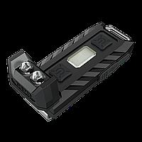 Фонарь Nitecore THUMB - (2xLED + 2хRED LED, 85 люмен, 6 режимов, USB), клипса, гарантия 60мес