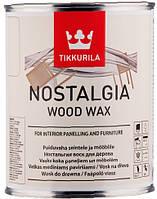 Воск для стен и мебели Nostalgia Ностальгия Тиккурила Кокос, 1л, фото 1