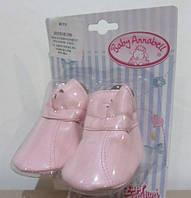 Обувь Ботиночки для куклы Baby Annabell Zapf Creation 792254R