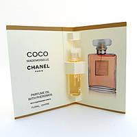 Масло с феромонами Chanel Coco Mademoiselle (Шанель Коко Мадмуазель) 5 мл. Без спирта (реплика)