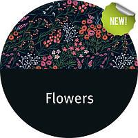 Эрго рюкзак Love & Carry DLIGHT из шарфовой ткани — Цветы