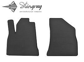 Peugeot 3008 2009- Комплект из 2-х ковриков Черный в салон. Доставка по всей Украине. Оплата при получении