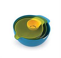 Набор мисок для смешивания и сепаратор для яйца, 5 п Joseph Joseph