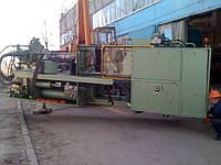 Монтаж оборудования для производства пластиковых изделий.