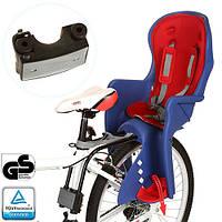 Велокресло детское PROFI M 3132 (4шт)усилен.кронштейн, зад.крепл.,ремни безоп., 4 цвета