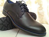 Стильные осенние туфли на шнурках Faro