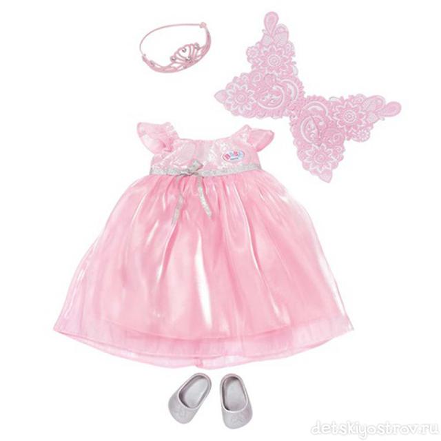 Набор одежды для куклы Baby Born светящееся Платье Феи. Для кукол рост  42-43 см. Новинка 2015 от немецкого производителя Zapf Creation 5e589c3fa9f7a