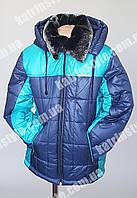 Куртка зимняя на мальчика подкладка и рукава овчина