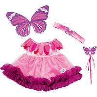 Одежда для кукол Беби Борн комплект одежды платье Костюм Феи Baby Born Zapf Creation 820766, фото 1