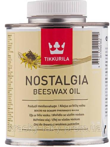 Масло на основе пчелиного воска Nostalgia Ностальгия Тиккурила, 0.375л
