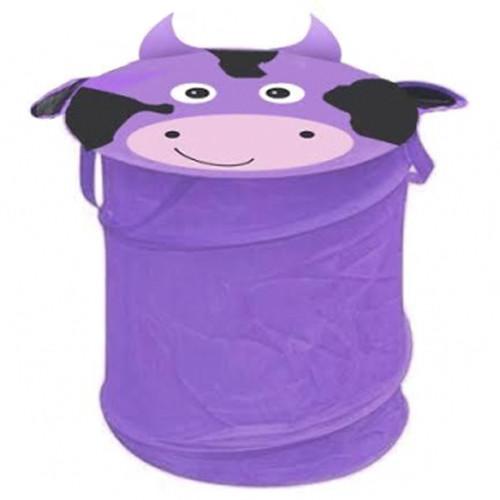 Корзина для игрушек Зоопарк 40*50 корова