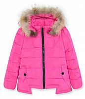 Куртка-пуховик (Розовый) 134-146