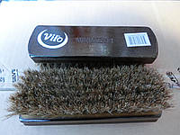 Щетка для обуви натуральный конский ворс Вило 17 см*5,5 см, фото 1