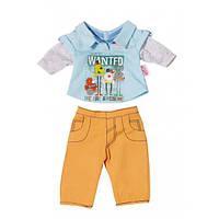 Одяг для ляльки 43 см Baby Born костюм для хлопчика Zapf Creation 822197A
