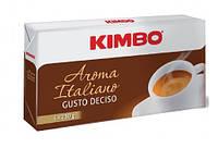 Итальянский кофе молотый Kimbo Aroma Italiano Gusto Deciso Quattro 1 кг.