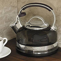 Чайник со свистком черный 1,89 л KitchenAid