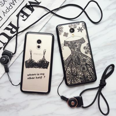 """MEIZU MX6 противоударный чехол панель накладка бампер защита 360* 3D для телефона АЖУРНЫЙ """"PARIS BUDUAR"""""""