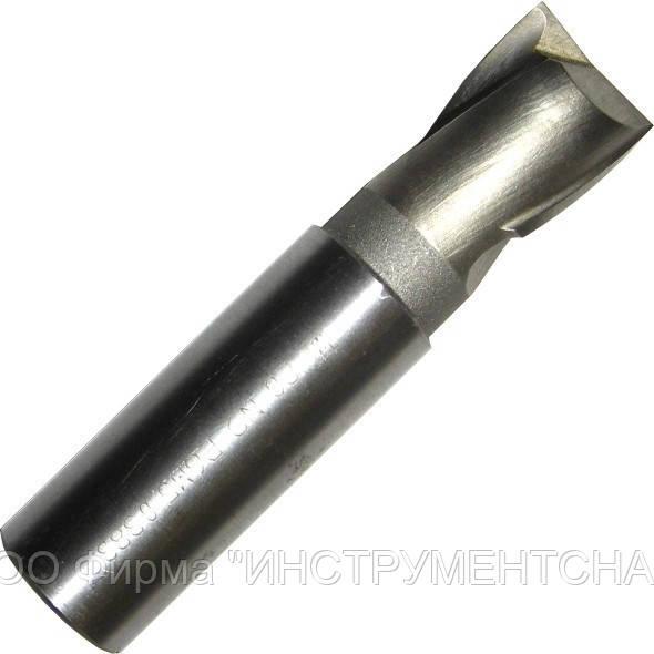 Фреза шпоночная 4,0 мм, ц/х, Р6М5