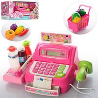 Кассовый аппарат 35563B  сканер,св,калькулятор,продукт,тележка,на бат-ке,в кор-ке,43-19-18,5см