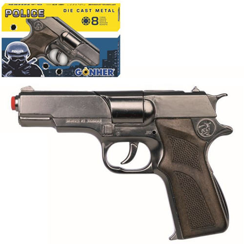 125/0 Револьвер поліцейський 8-зарядний, в коробці 9503008100