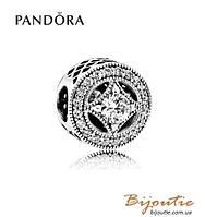 Pandora Шарм #791970CZ серебро 925 Пандора оригинал