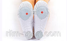 Балетные тапочки (Балетки) белые, фото 2